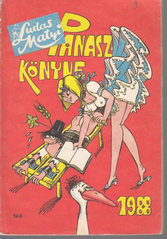 LUDAS MATYI  PANASZKÖNYVE ( ÉVKÖNYVE )  1988
