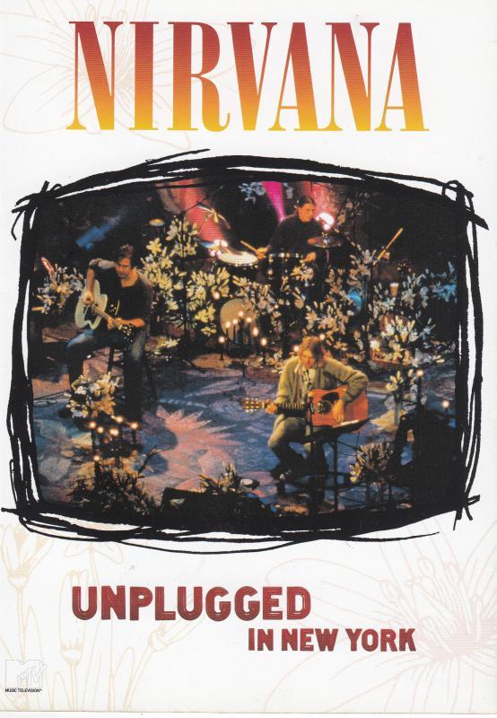 NIRVANA - UNPLUGGED IN NEW YORK  DVD koncertfilm