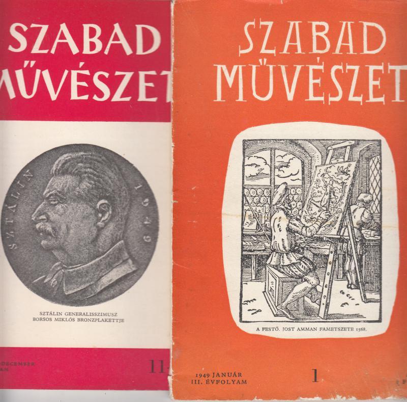 """SZABAD MŰVÉSZET - A """"Képzőművészet barátainak köre"""" folyóirata"""