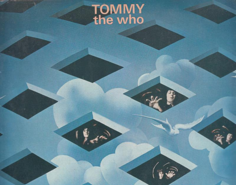 The Who  --  TOMMY  LP (dupla album)