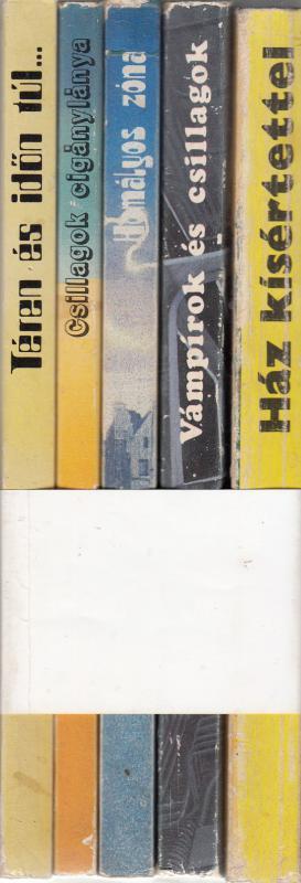 World SF sorozat - HÁZ KÍSÉRTETTEL / VÁMPÍROK ÉS CSILLAGOK / CSILLAGOK CIGÁNYLÁNYA........