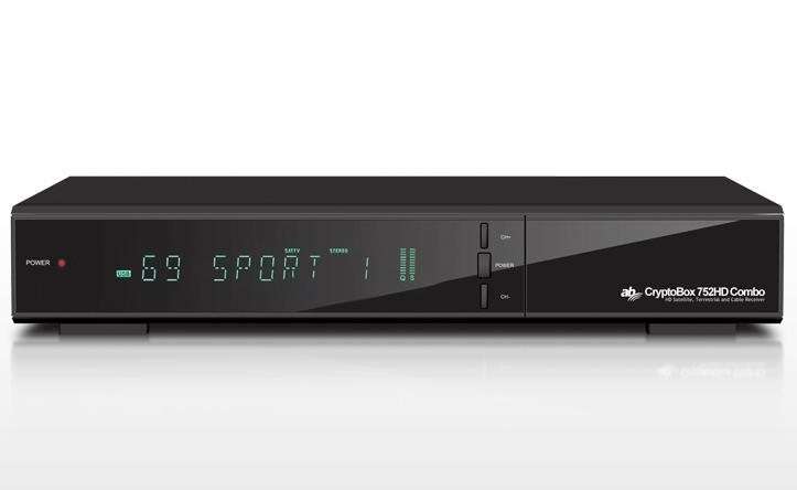AB CRYPTOBOX 752 HD COMBO DVB-S2/T2/C BELTÉRI EGYSÉG