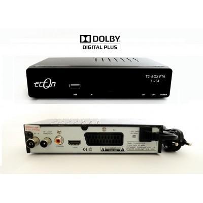 ECON T2-BOX E-264 földi digitális vevőkészülék