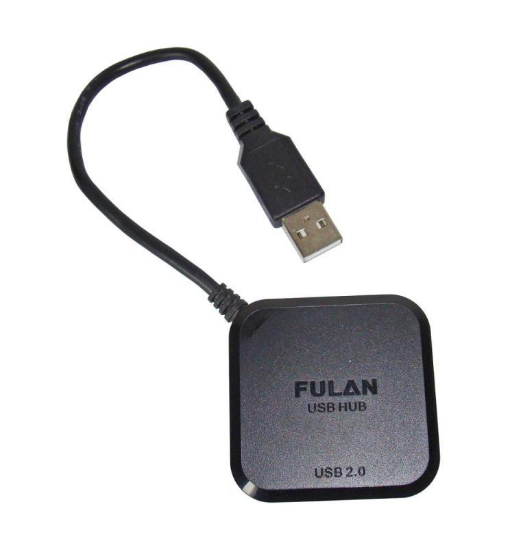 FULAN 4 PORTOS USB 2.0 MINI HUB ELOSZTÓ