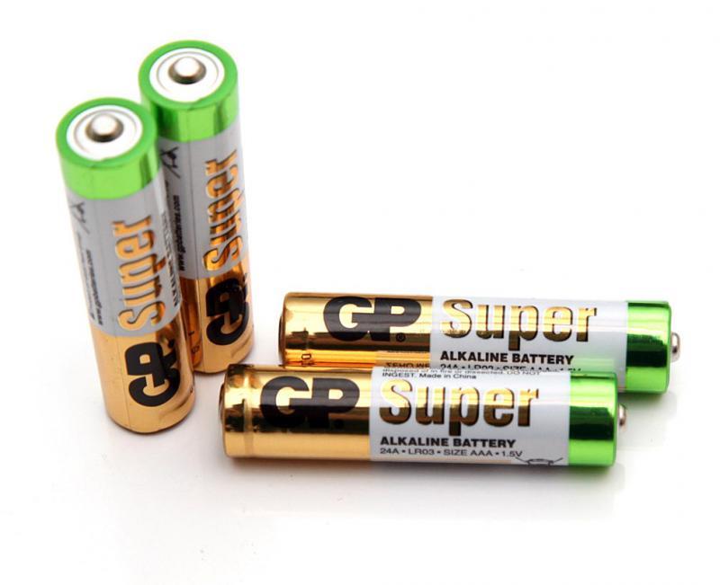 GP alkáli elem AAA 2 darab/szett
