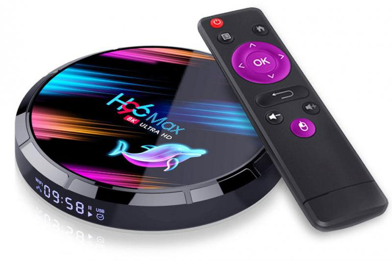 H96 MAX X3 IP TV BOX ÉS MEDIA PLAYER