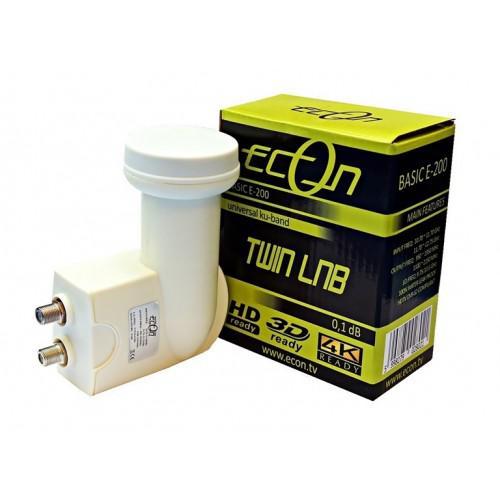 LNB TWIN ECON BASIC-200 PARABOLA FEJ