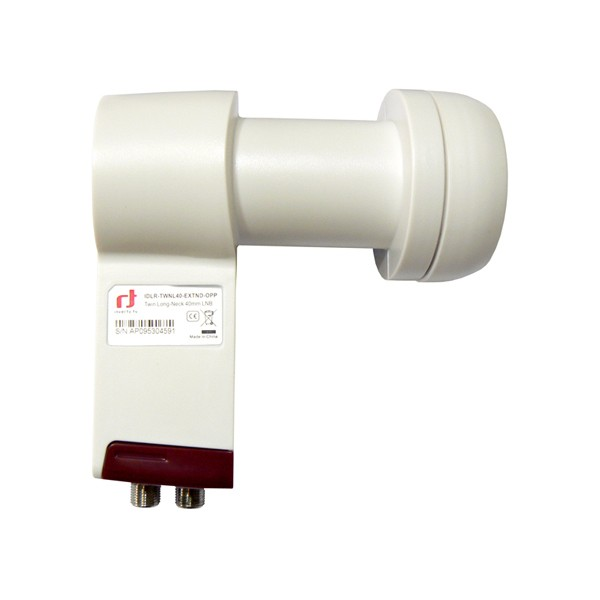 LNB TWIN INVERTO RED EXTEND PARABOLA FEJ