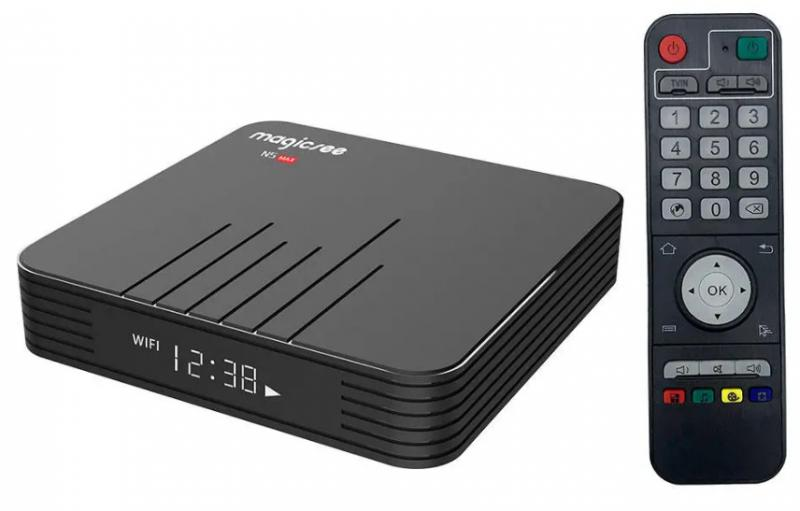 MAGICSEE N5 MAX IP TV BOX ÉS MEDIA PLAYER