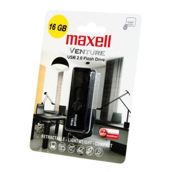 MAXELL VENTURE USB KULCS - PENDRIVE 16 GB