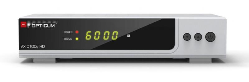 OPTICUM AX C100S HD DVB-C KÁBEL TV BELTÉRI EGYSÉG