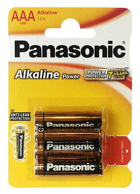 Panasonic alkáli elem AA (LR6) 4 darab/szett