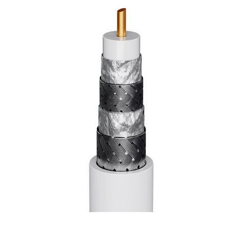RG-6 KOAXIÁLIS QUADSHIELD KOAXIÁLIS KÁBEL GOOBAY CCS 120 dB