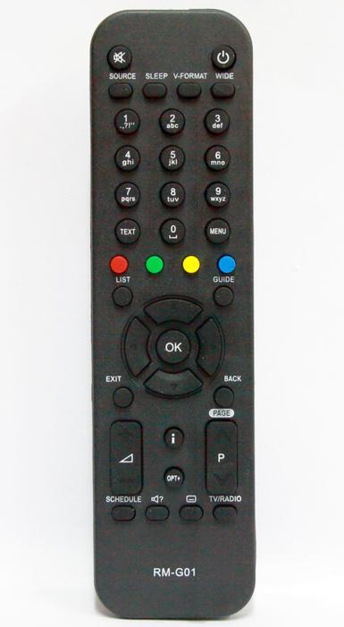 TÁVIRÁNYÍTÓ DIGI TV HUMAX RM-G01 BELTÉRI EGYSÉG