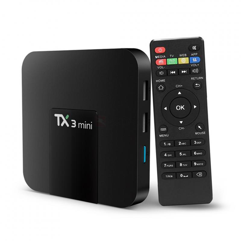 TX3 ANDROID IP TV BOX ÉS MEDIA PLAYER