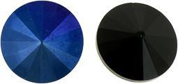 12mm Blue Iris/Jet
