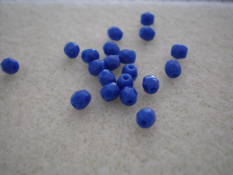 3mm Opak kék