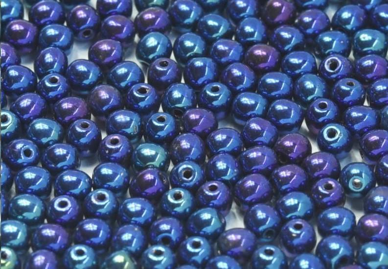 4 mm Jet Blue Iris