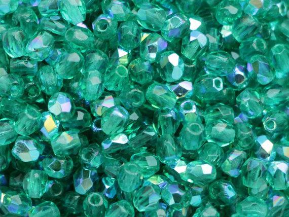 4mm emerald AB