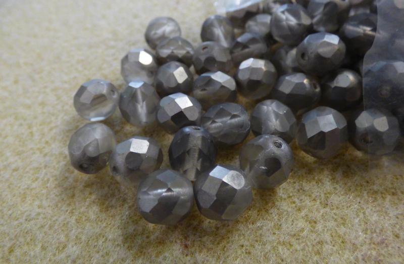 8mm matte/shiny grey