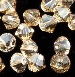Crystal golden shadow 6mm