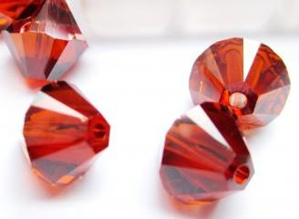 Crystal red magma 6mm