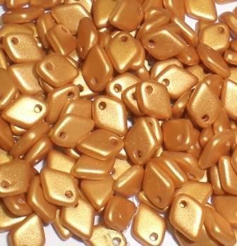 Dragon scale Alabaster Metallic Gold