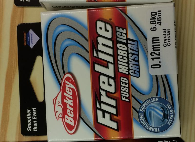 Fireline 0.12mm 46m (50yd) Crystal Clear