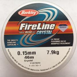 Fireline 0.15mm 45m (50 yd) Crystal Clear
