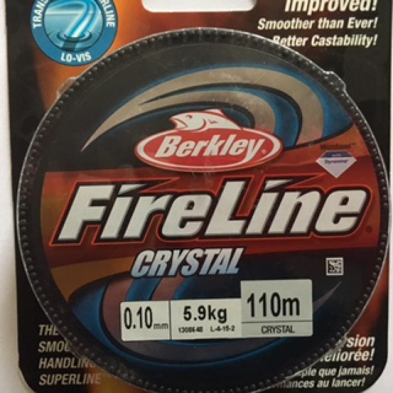 Fireline 0.1mm 46m (50yd) Crystal Clear