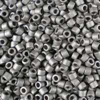 Metallic Silver Matted
