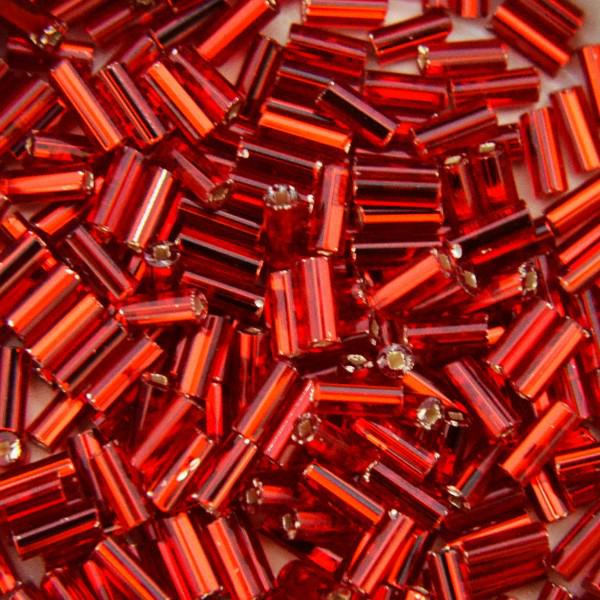 Szalma ezüstközepű piros