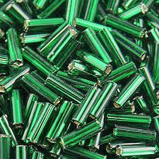 Szalma ezüstközepű zöld