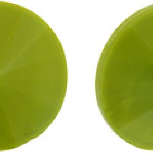 14mm Opaque Olive