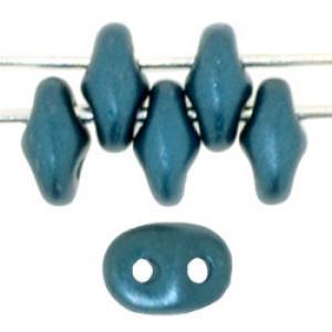 Superduo Pearl Coat - Steel Blue