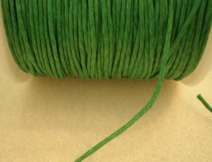 Zöld viaszolt szál