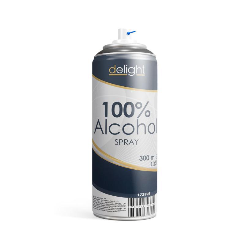 Alkohol spray - 300 ml  (100% alk. )