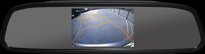 Visszapillantó tükrös monitor 4,3'