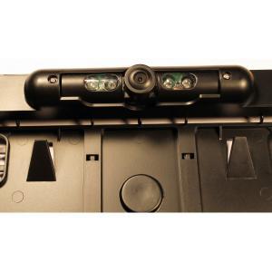 Tolató kamera Rendszám-táblakeretbe kábel nélküli kapcsolattal