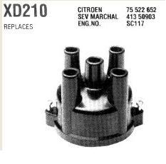 gyújtás elosztófedél Citroen CX2000 , cx2400 74-83