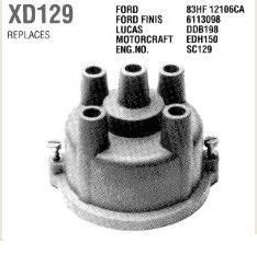 gyújtás elosztófedél Ford Sierra 1,6 82-84