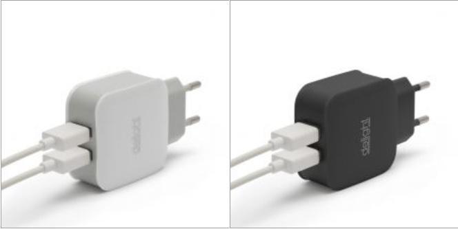 Hálózati adapter 2db USB kimenettel