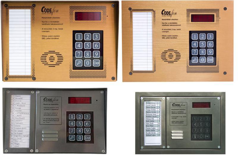 kaputelefon központ EVKT 800 proximity 2vezetékes