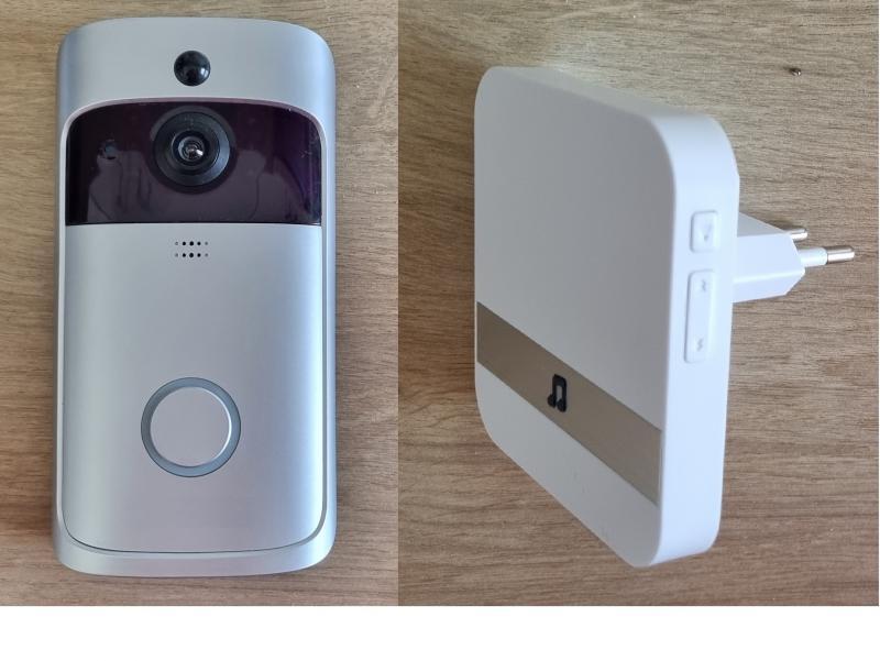 Kaputelefon Vezeték Nélküli HD Videó FIS3 + 1db beltéri (max.10db) +androidra