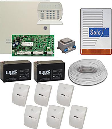 Komplett riasztó rendszer DSC PC1616 + PK5516