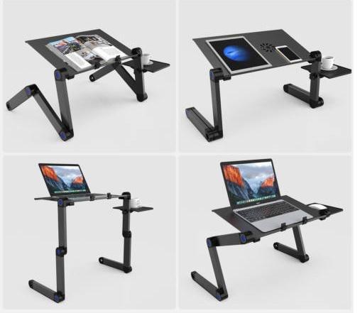 Laptoptartó több ponton állítható