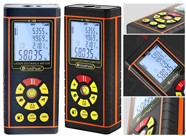 Műszer Digitális, lézeres távolságmérő, 0.05-60m