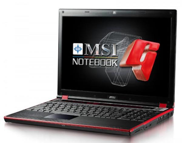 Notebook MSI GX620X-063Hu 15,4