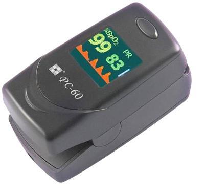 Oxigénszaturáció, pulzusszám- és intenzitásmérés PC-60C