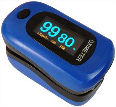 Oxigénszaturáció, pulzusszám- és intenzitásmérés  POD-2